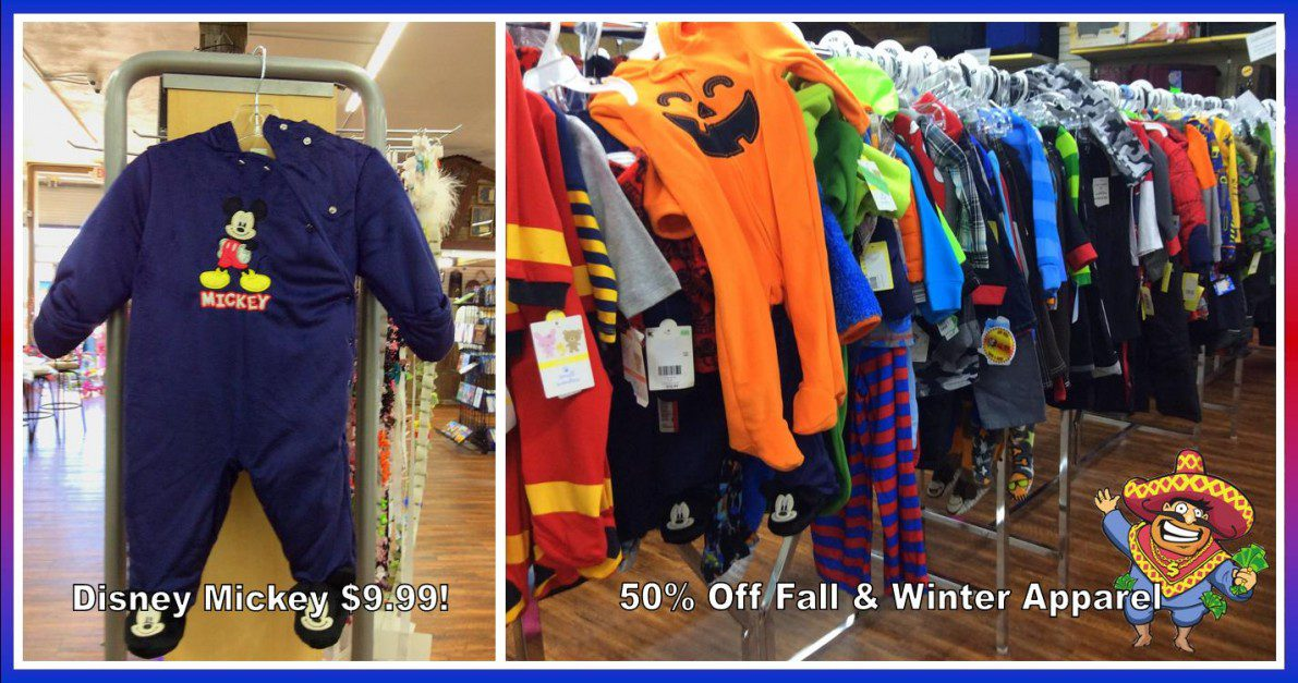 Uncle Dan's Outlet Winter Clearance on baby apparel