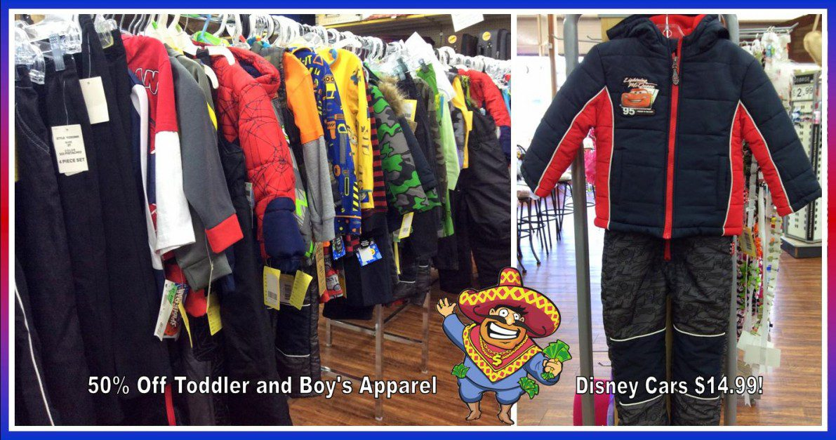 Uncle Dan's Outlet Winter Clearance Blowout on boys' apparel
