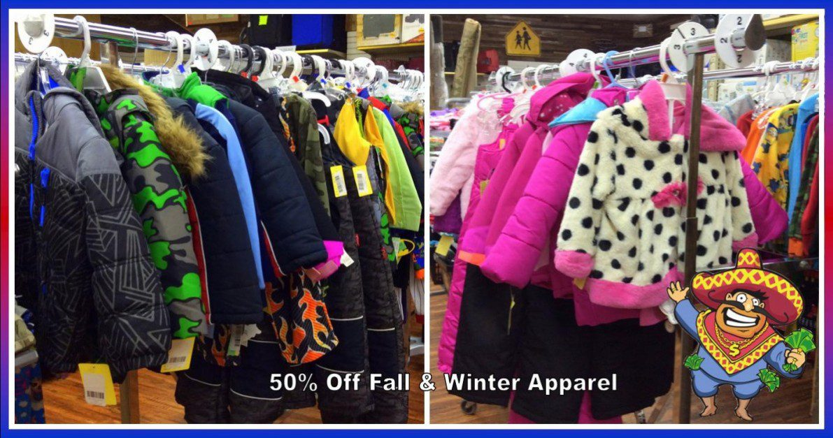 Uncle Dan's Outlet Winter Clearance Blowout on name brand apparel