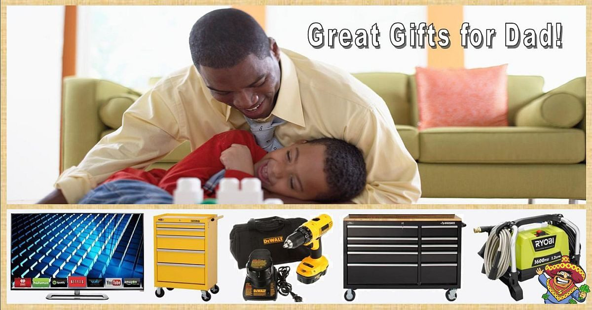 Value-priced Gifts for Dad