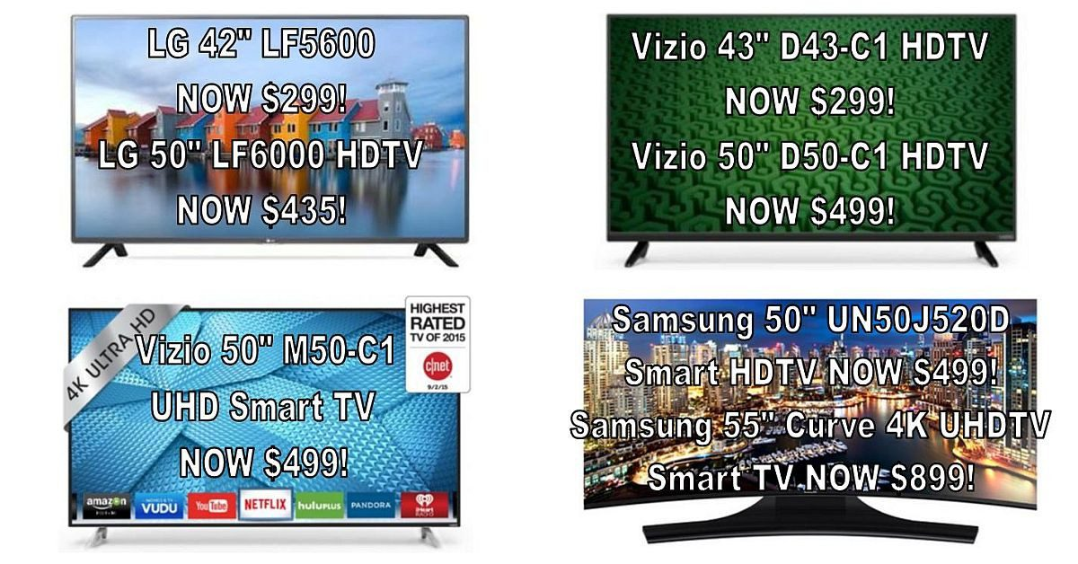 Value-priced Gifts for Dad! - LG, Vizio, & Samsung HDTVs