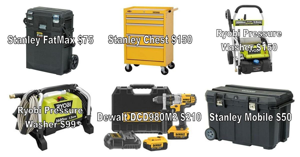 Value-priced Gifts for Dad! Tools, Tool Chests, & Power Tools