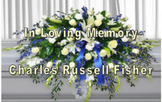 Outlet Closing for Memorial Service for Charles R. Fisher