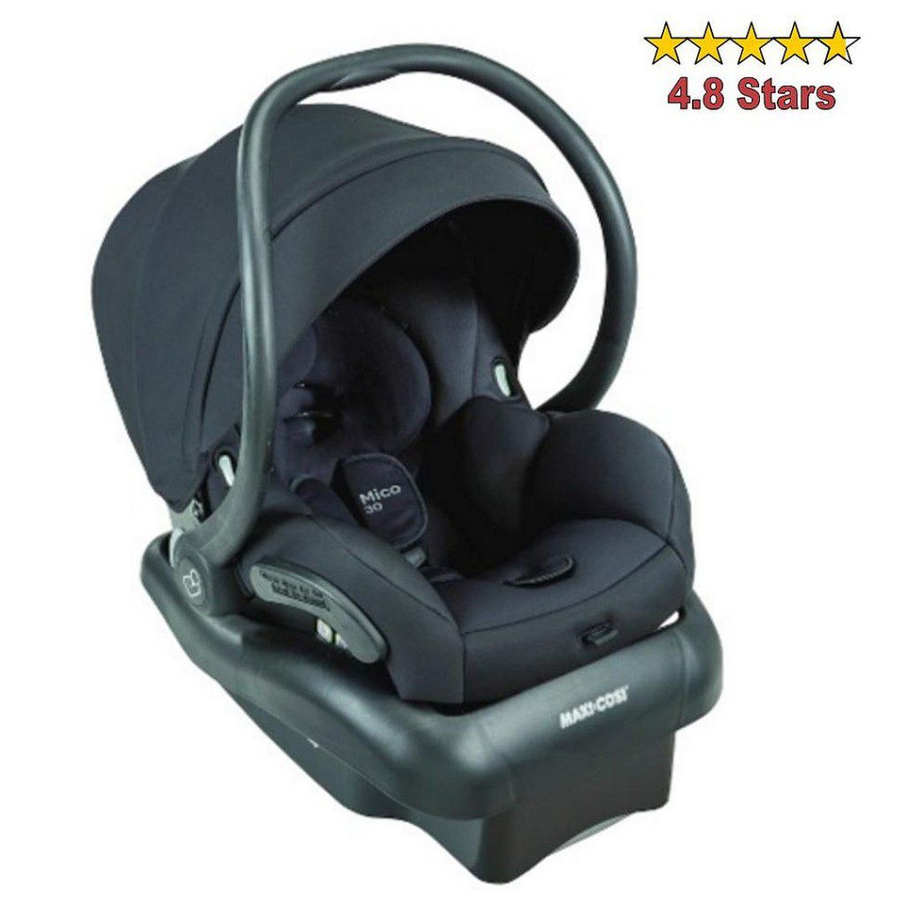 Baby Travel Gear - Maxi Cosi Car Seat in devoted black