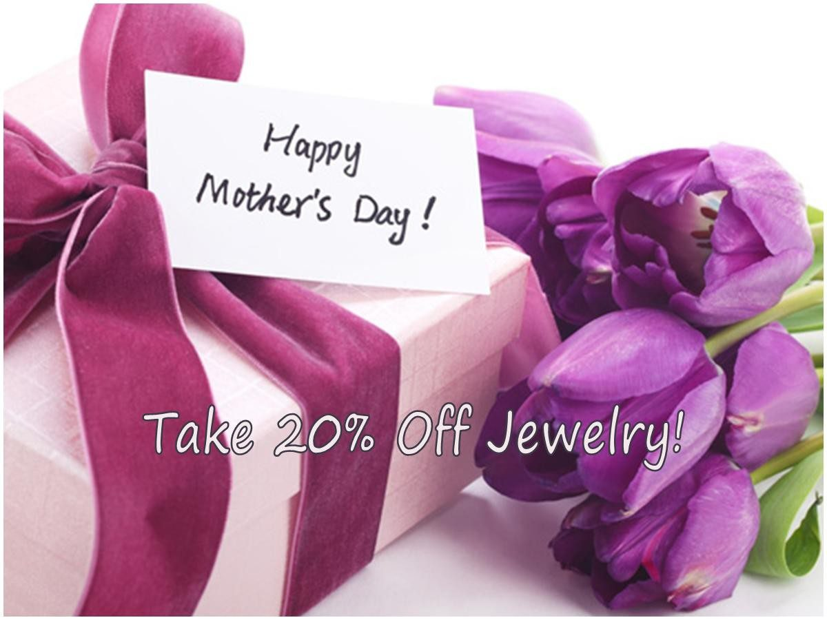 Mother's Day Jewelry: Save 20% Off Outlet Prices