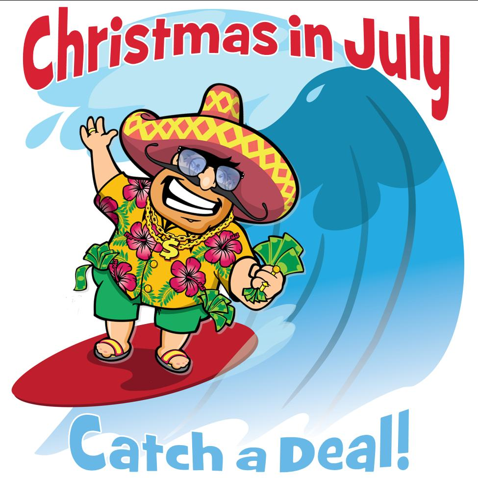 Christmas in July Sale: Layaway Now for 10% Down! | Uncle Dan\'s Outlets