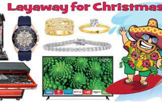Christmas in July Sale: Layaway Now for the Holidays! Just 10% Down!
