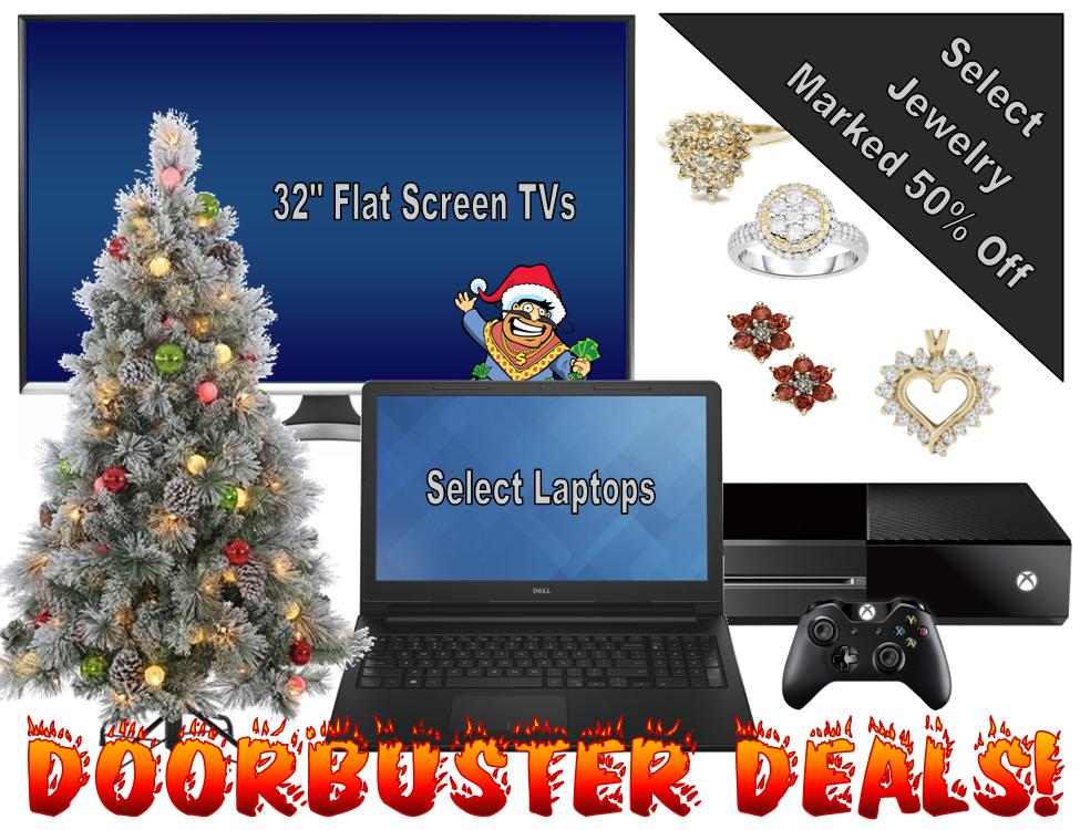 The Blackest Black Friday Doorbuster Deals: Dashing through the Doors at 7 AM!