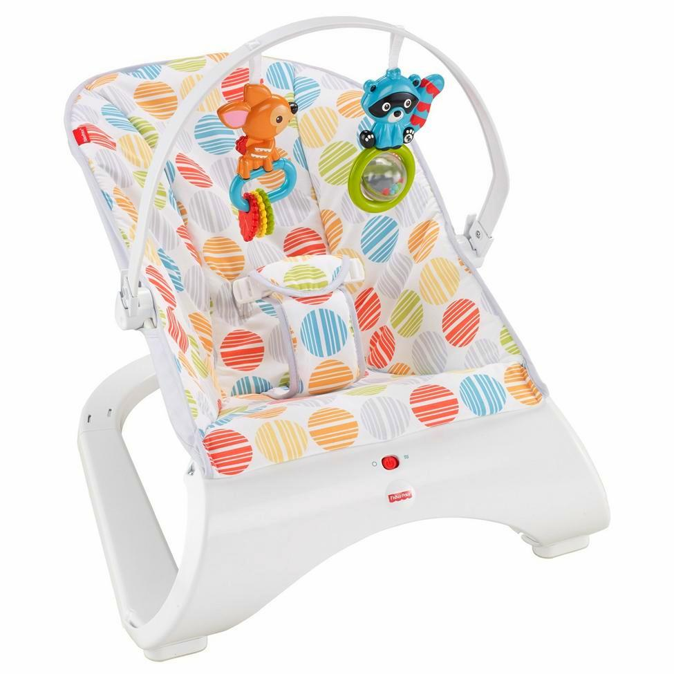 Special Delivery: Top-rated Baby Swings and Bouncers! Fisher-Price Comfort Curve Bouncer