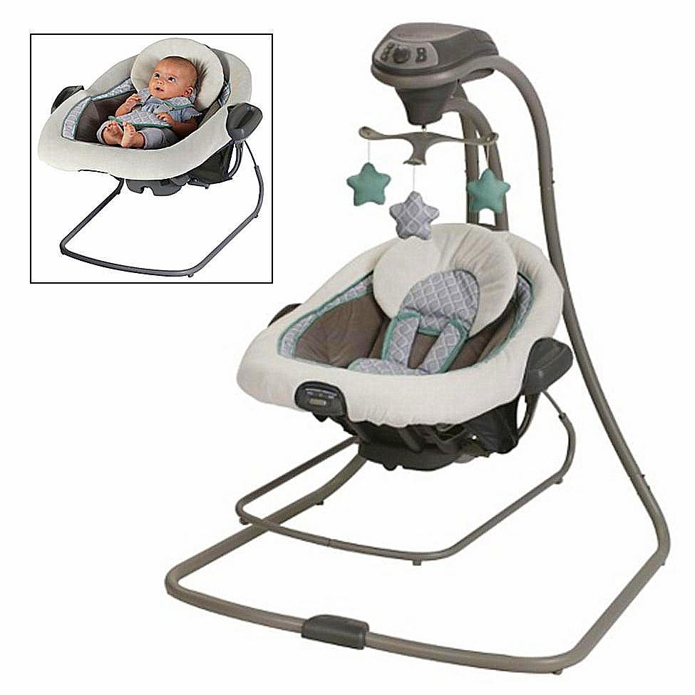 Special Delivery: Top-rated Baby Swings and Bouncers! Graco Duet Connect LX