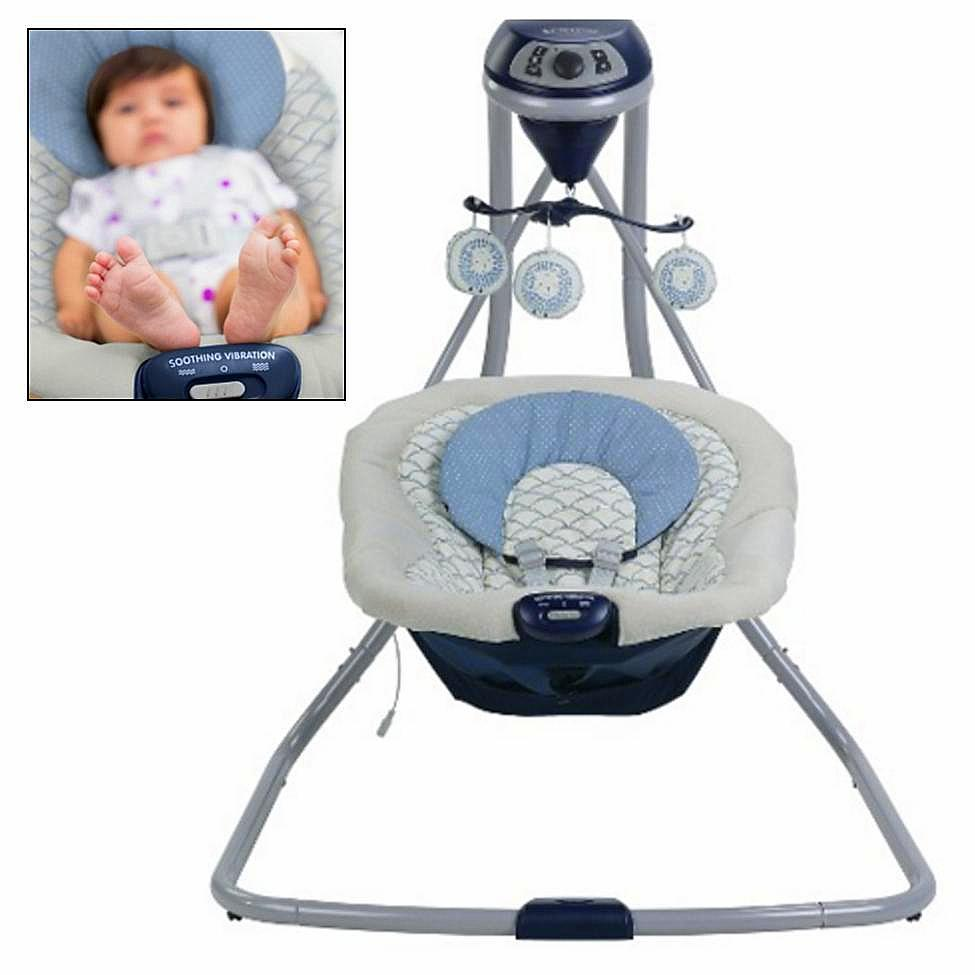 Special Delivery: Top-rated Baby Swings and Bouncers! Graco Simple Sway Cradling Swing