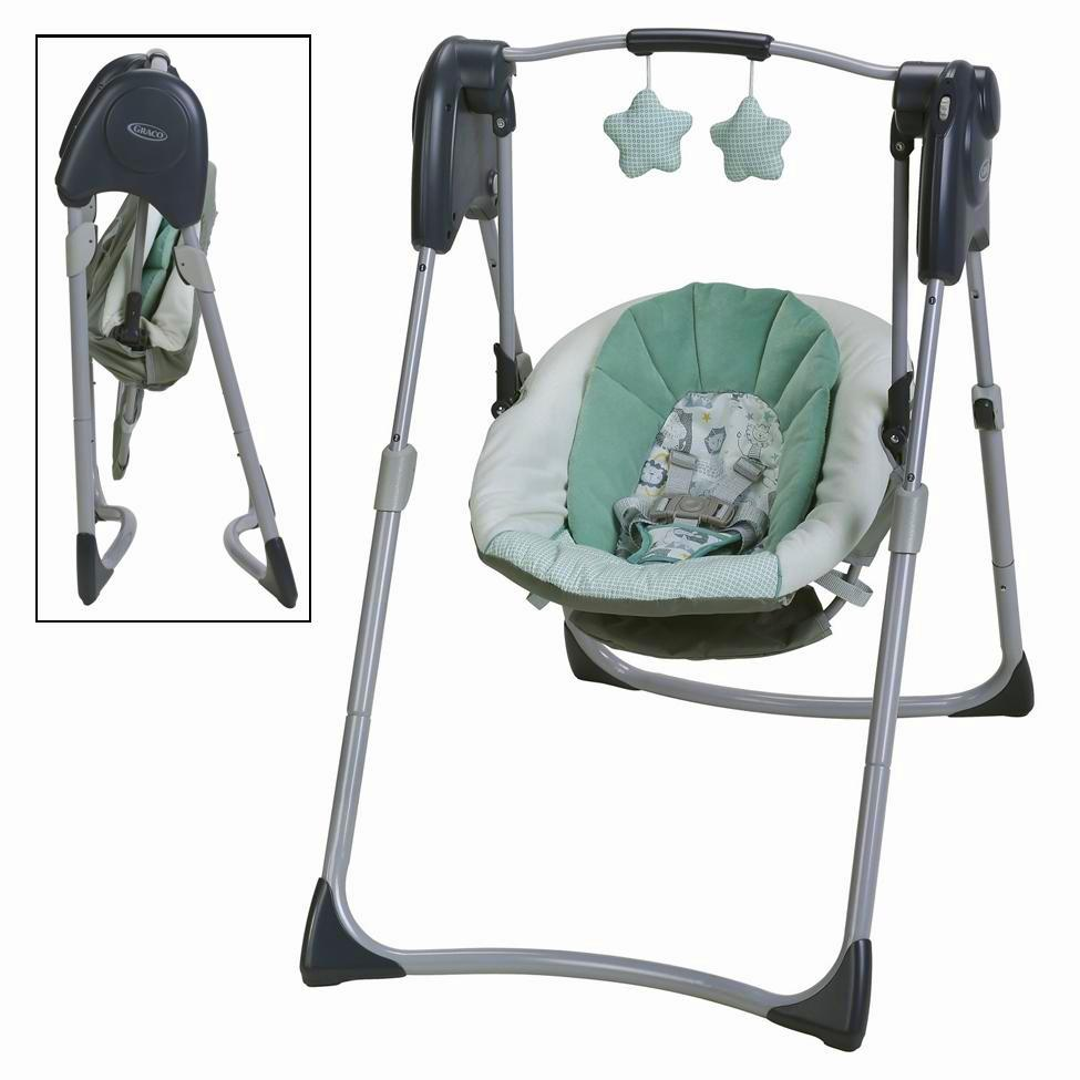 Special Delivery: Top-rated Baby Swings and Bouncers! Graco Slim Spaces Compact Swing