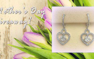 Uncle Dan's Mother's Day 1K Giveaway: Enter to Win Diamond Earrings Valued at $1,000!