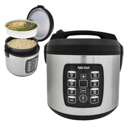 Aroma Rice Steamer Cooker