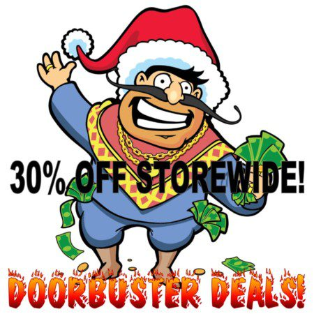 30% Off Storewide During Black Friday Doorbuster Deals