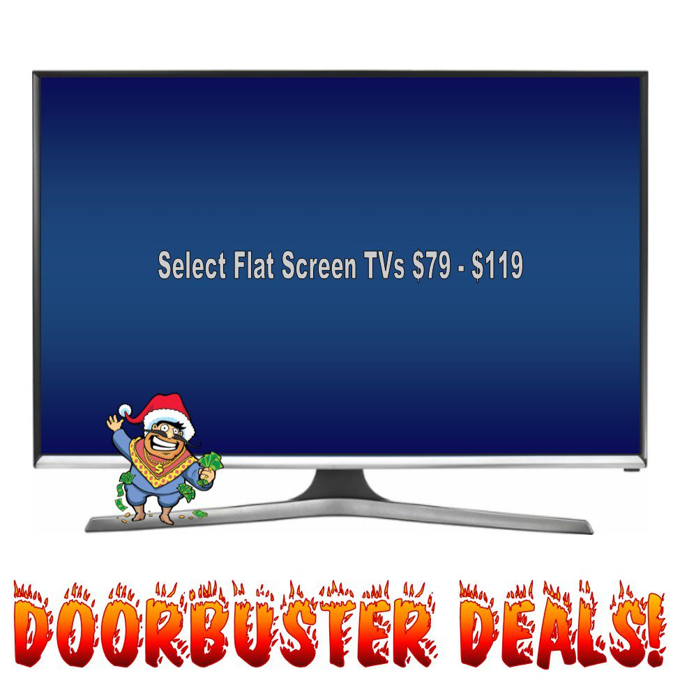 Black Friday Doorbuster TV Deals