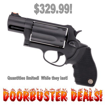 Black Friday Doorbuster Deal on Taurus Public Defender