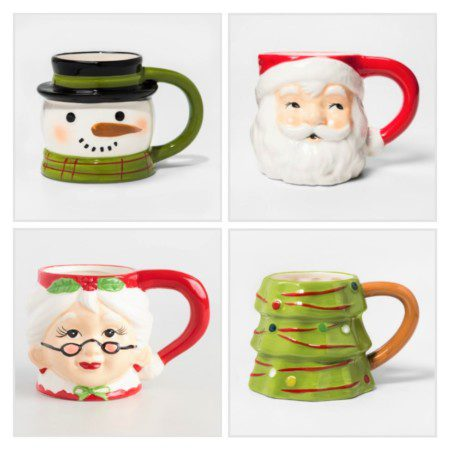 Christmas character mugs