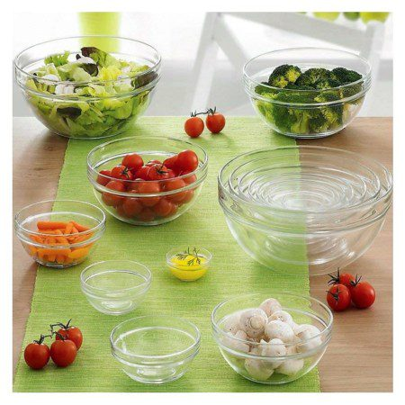 Luminarc 6 pc mixing bowl set