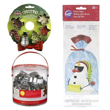 Nifty Gifties - Wilton cookie cutters and gift bags