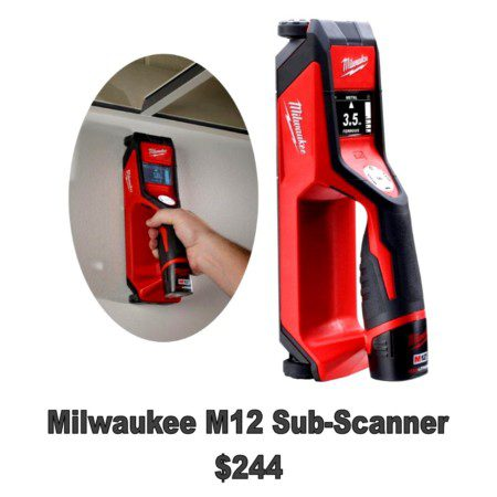 Milwaukee M12 Sub-Scanner