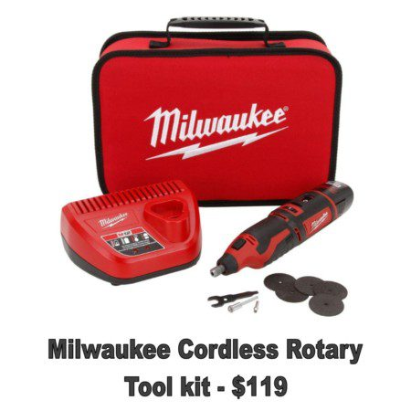 Milwaukee Cordless Rotary Tool Kit